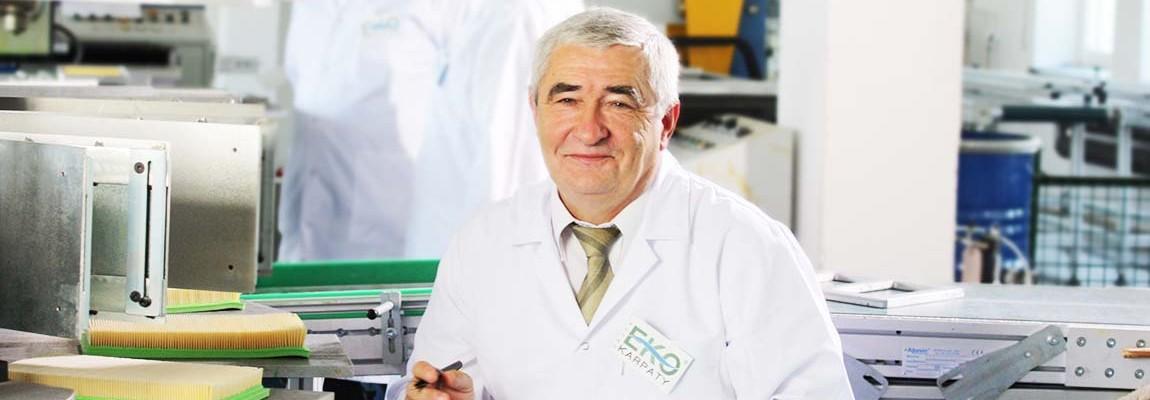 dr inż. Jan Pąprowicz prezes firmy EKO-KARPATY