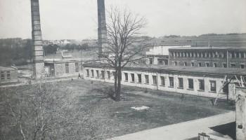 Dawne Zakłady Włókiennicze Lianka w b. pałacu Lubomirskich lata 70