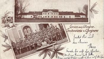 Austryjackie koszary w dawnym pałacu Lubomirskich podczas I Wojny Światowej